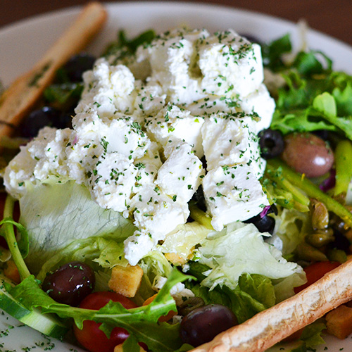- greek salad V
